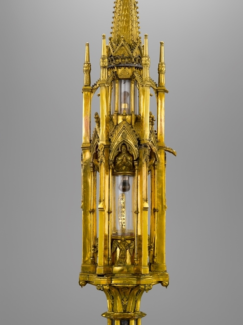 Grand reliquaire-tourelle de saint Nicolas