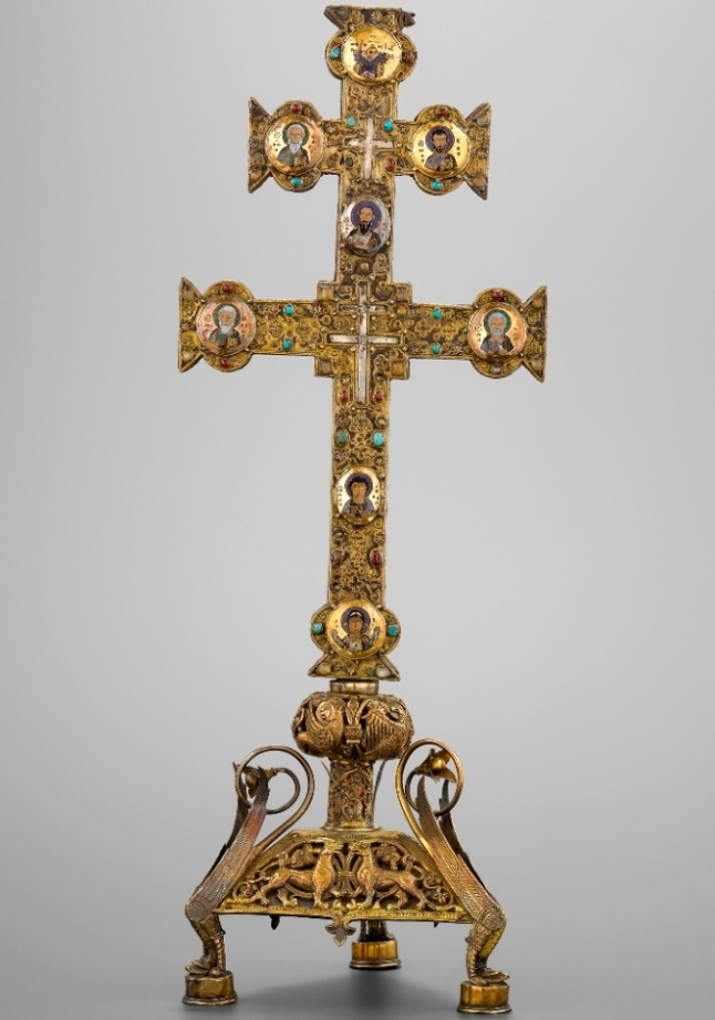 Reliquary cross of the Holy Cross, so-called Byzantine Cross