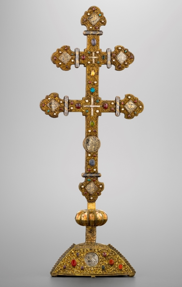 Double-armed reliquary cross
