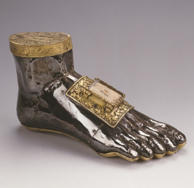 Foot reliquary of Saint Blaise