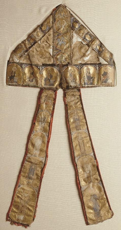 Parchment mitre