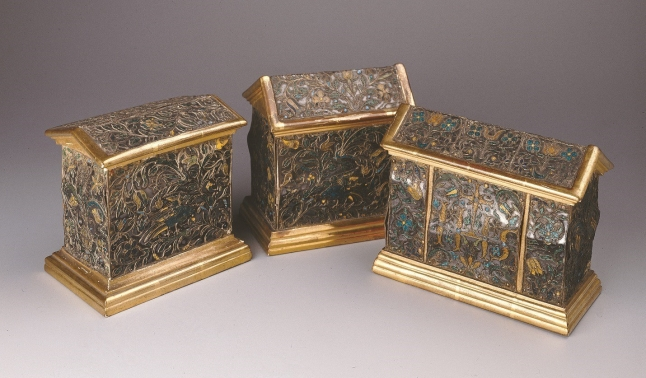 Enamelled reliquaries
