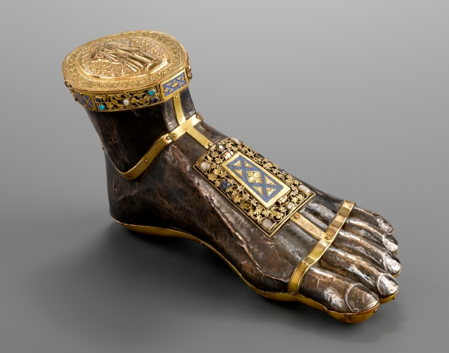 Foot reliquary of Saint James Major