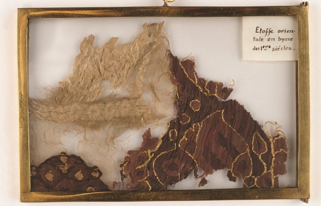 Fragment of Oriental silk