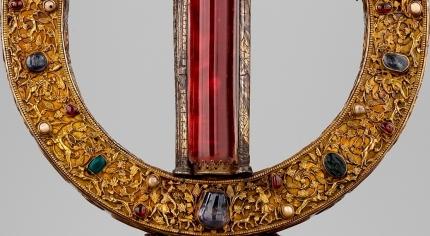 Reliekhouder van de rib van de heilige Petrus - detail